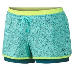 NIKE Full Flex 2 in 1 Splatter Training Shorts